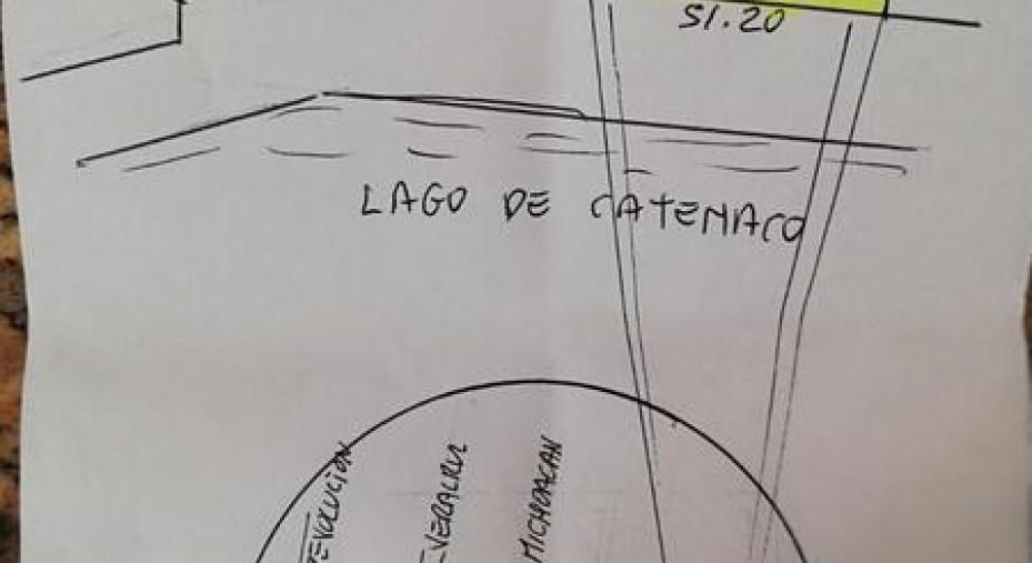 TERRENO EN VENTA FRENTE A LA LAGUNA DE CATEMACO, VERACRUZ